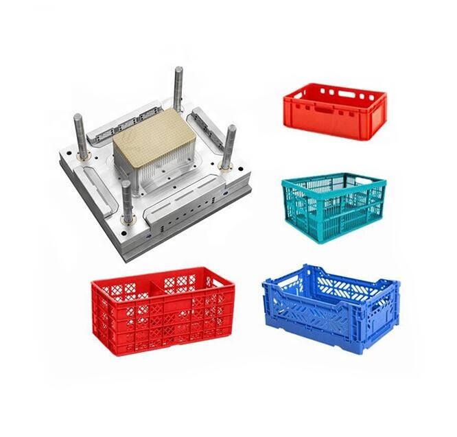 Fast cycle turnover box mould